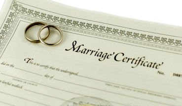 marriage license lake como