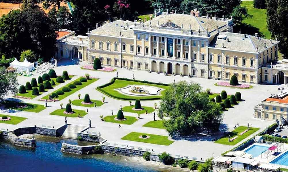 Villa Olmo Isha Ambani engagement party Lake Como